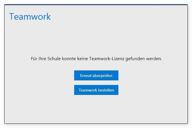 TeamworkAnmeldung